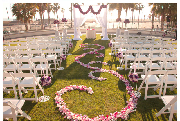 Wedding flowers and wedding decorations for wedding venues in Orange County http://RoyceWeddings.com Call: 626-560-2537