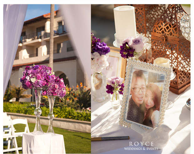 Wedding decorations designed by wedding planner in Orange County http://RoyceWeddings.com Call: 626-560-2537