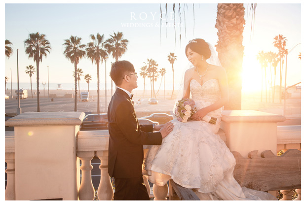 Bride with wedding bouquet at one of the beautiful Orange County wedding venues http://RoyceWeddings.com Call: 626-560-2537
