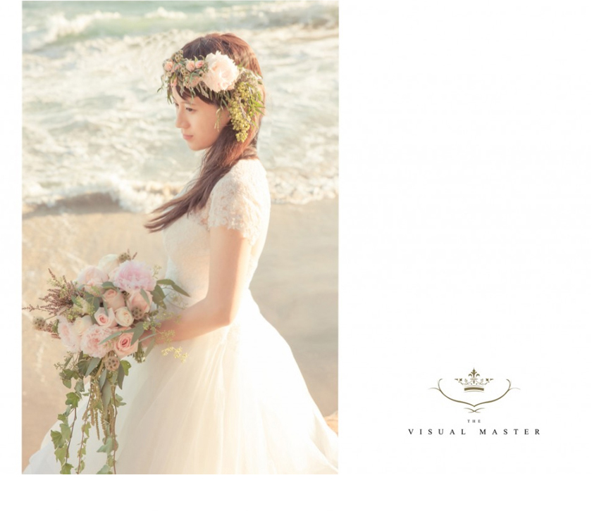Bride with flower crown and wedding flowers at a beautiful Malibu wedding venue http://RoyceWeddings.com Call: 626-560-2537