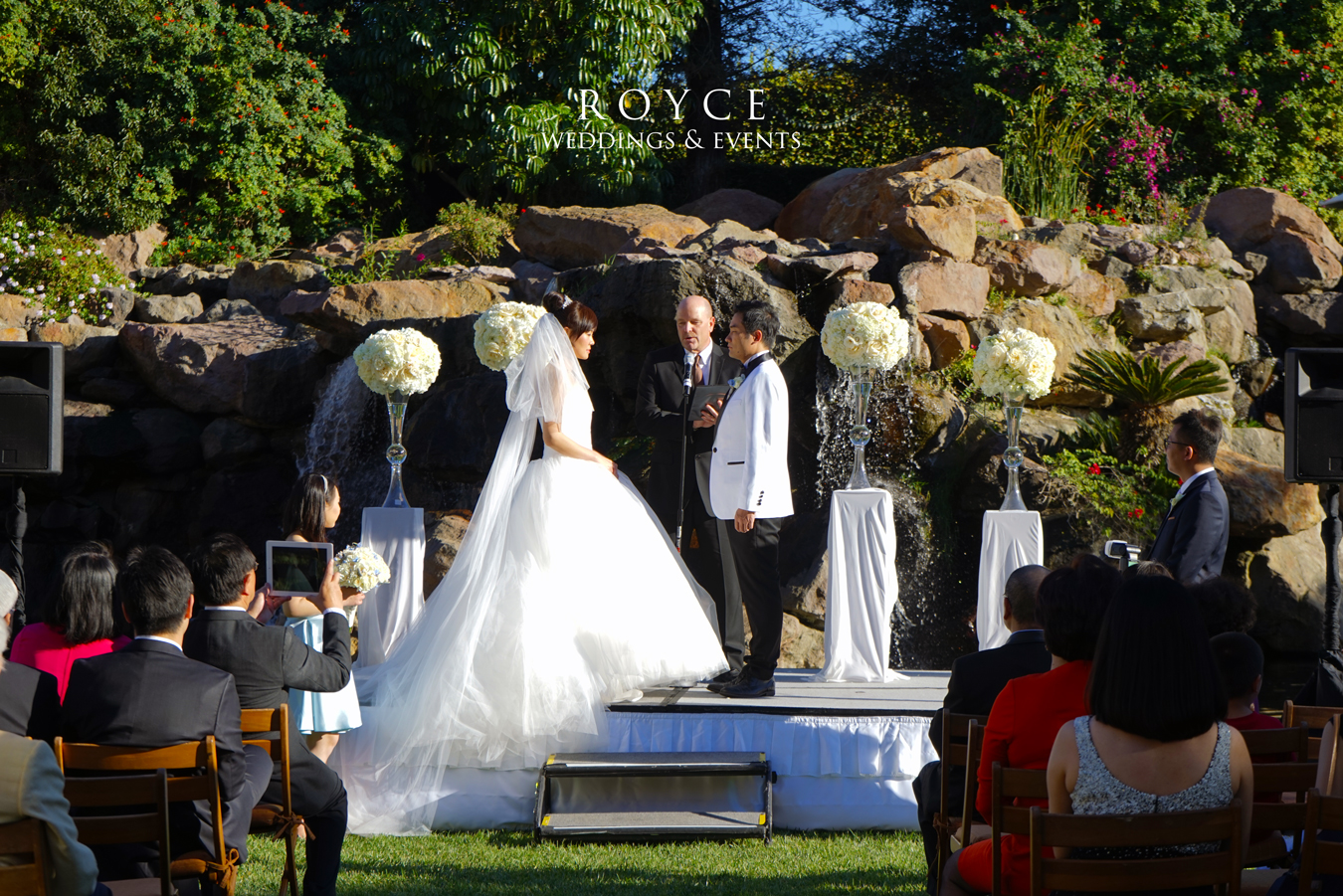 glamorous winter garden wedding royce weddings