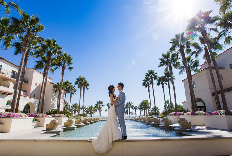 Wedding planner coordinated a beautifully at one of the affordable wedding venues in Orange County http://RoyceWeddings.com Call: 626-560-2537