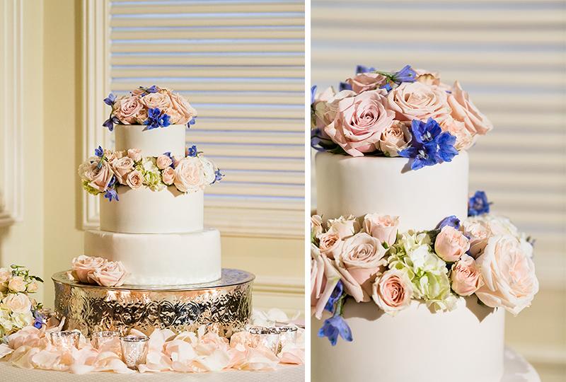 Lovely wedding cake masterpiece unique wedding productions.