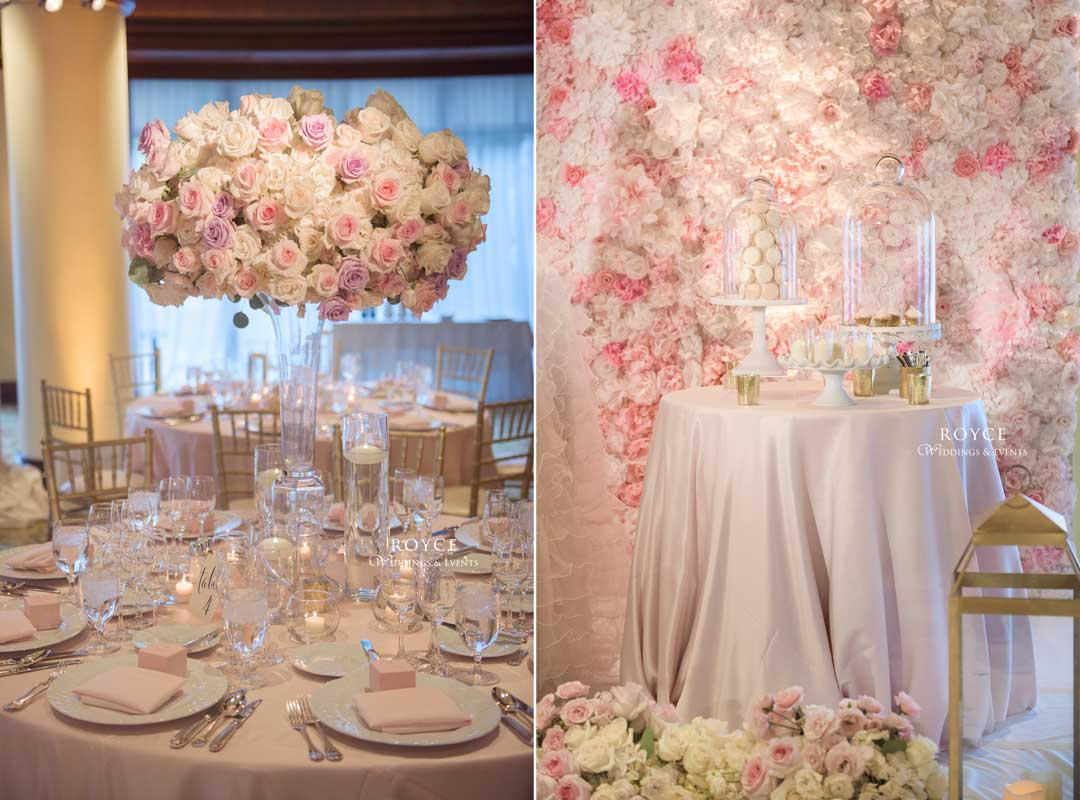 Beautiful wedding flowers created by event planners Los Angeles Royce Weddings - Call: 626-560-2537